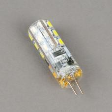 G4-12V-3W-6400K Лампа LED (силикон)